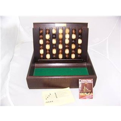 Vintage Remy Martin Cognac Wooden Game - Pas de Temps Connect Four 4 In a Row