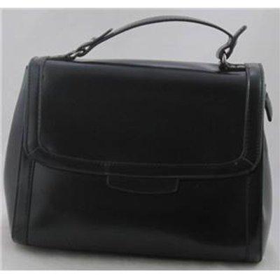 NWOT Unbranded black faux leather handbag