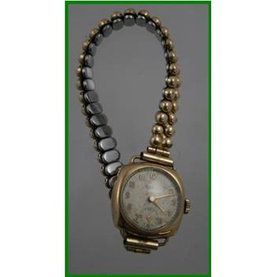 Rotary - 9ct gold watch -  spares / repair / scrap