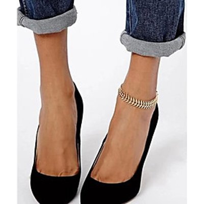Anklet/Bracelet Others Unique Design Fashion Alloy Gold Women's Jewelry 1pc