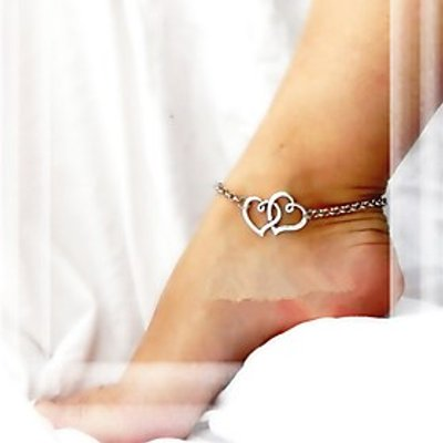 Anklet/Bracelet Alloy Unique Design Love Fashion Heart Jewelry Jewelry For Party Daily Casual Christ