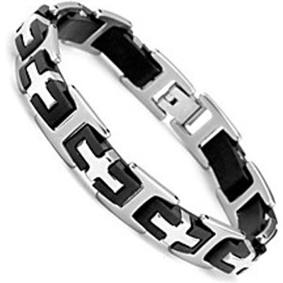 Stainless Steel Bracelets Fashion Jewelry Steel 210mm 304 Stainless Steel Men's Bracelets Christmas