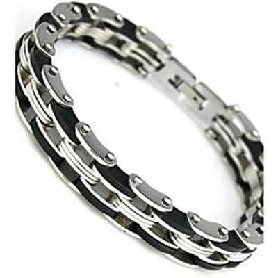 Stainless Steel Bracelet and Bangle 210mm Men's Jewelry Strand Rope Charm Chain Wristband Men's Brac