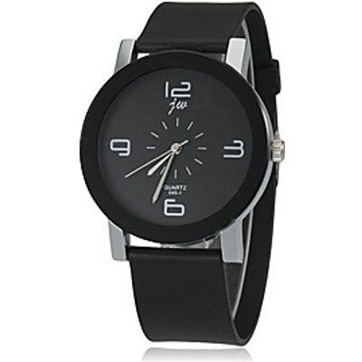 Women's Simple Dial Silicone Band Quartz Wrist Watch (Assorted Colors) Cool Watches Unique Watches F