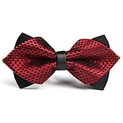 Men Vintage / Party / Work / Casual Bow Tie,Polyester Solid All Seasons
