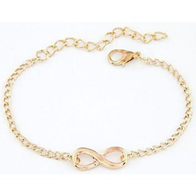 Fashion Personality Simple Retro Lucky Number Eight Word Bracelet Christmas Gifts