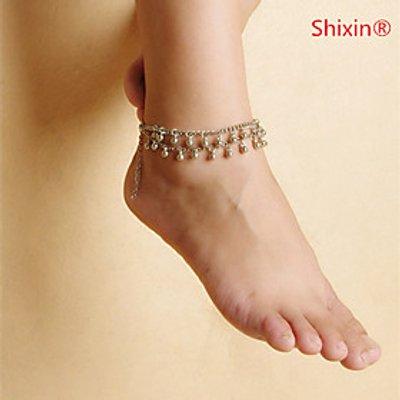 Women's Anklet/Bracelet Alloy Unique Design Simple Style Fashion Jewelry Silver Women's Jewelry Casu