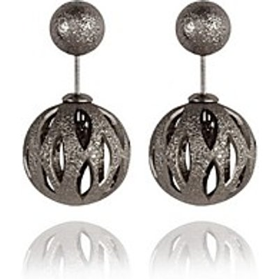 Stud Earrings Jewelry Alloy Vintage Bohemian Round Jewelry Party Daily Casual 1 pair