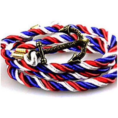 Punk Fashion Men's Bracelet Bronze Anchor Bracelet Alloy Bracelet Chain Bracelets / Wrap Bracelets D