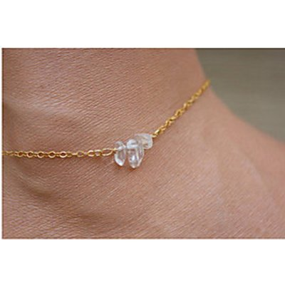 Women's Anklet/Bracelet Alloy Luxury European Jewelry For Daily Casual