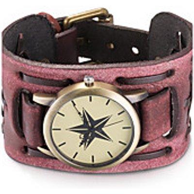 Women's Unisex Fashion Watch Wrist watch Bracelet Watch Water Resistant / Water Proof Quartz Leather