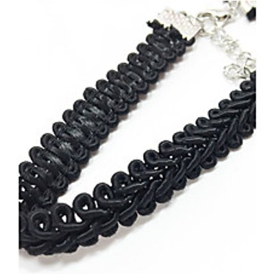 Women's Choker Necklaces Jewelry Lace Fabric Basic Unique Design Tattoo Style Jewelry ForWedding Hal