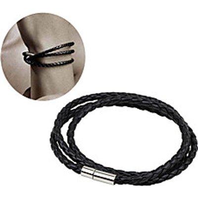 Women's Men's Multi-layer Woven Twist Bracelet Korean Style Hot Sale Leather Rope Bracelet Party Spe