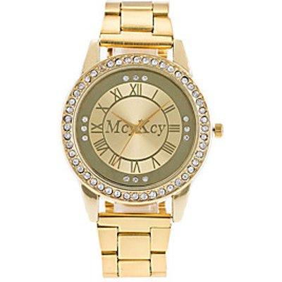 XU Men's Unisex Dress Watch Fashion Watch Chinese Quartz Alloy Band Luxury Elegant Casual Diamonds W