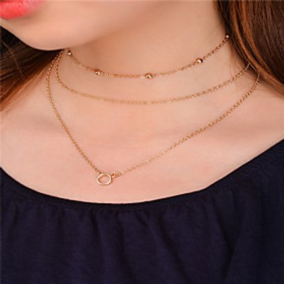 Women's Choker Necklaces Pendant Necklaces Chain Necklaces Jewelry Dangling Style Pendant Euramerica