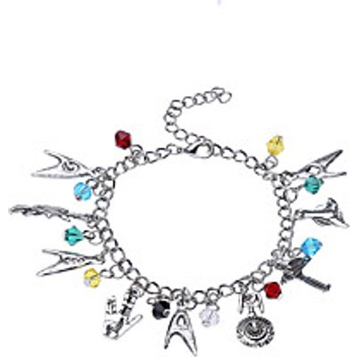 Lureme Women's Charm Bracelet Jewelry Natural Friendship Rainbow Movie Jewelry Fashion Luxury DIY Al