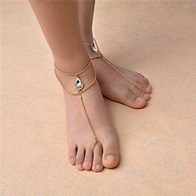 Women's Anklet/Bracelet Gem Rhinestone Fashion Bohemian Drop Jewelry 147 Dailywear Casual Outdoor cl