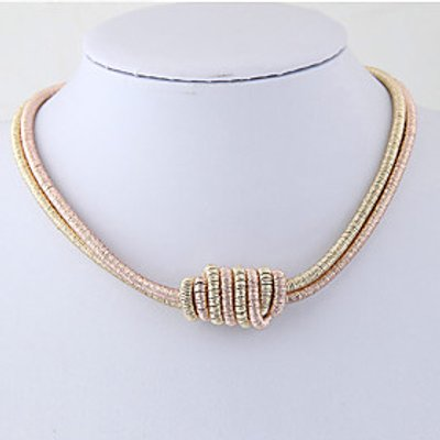 Women's Choker Necklaces Alloy Euramerican Fashion Jewelry Daily Casual 1pc