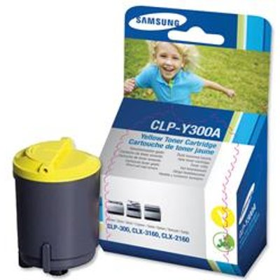 08806349389743 | Samsung 300A Yellow Toner Cartridge   CLP Y300A ELS Store