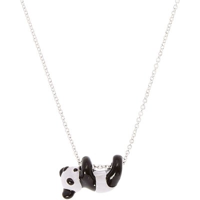 Swinging Panda Pendant Necklace