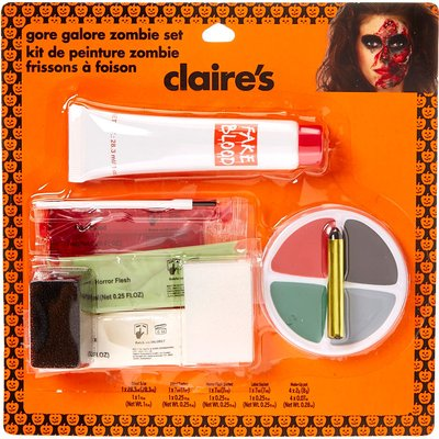 Gore Galore Zombie Cosmetic Set
