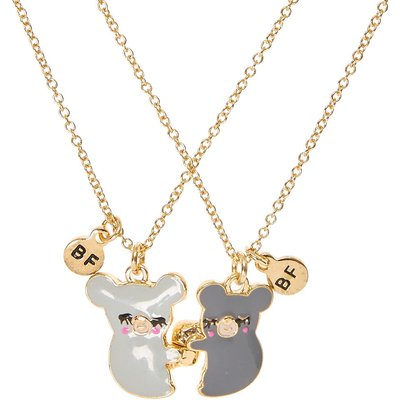 Best Friends Koala Pendant Necklaces