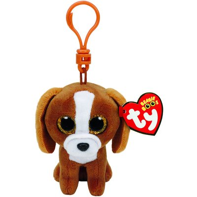 TY Beanie Boo Tala the Puppy Keyring Clip
