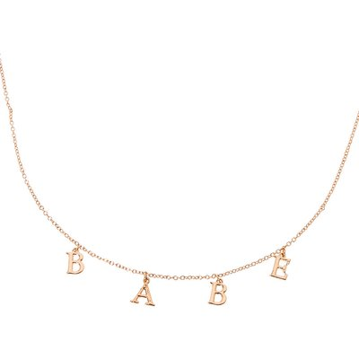 Gold-tone BABE Necklace