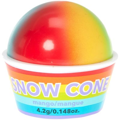 Rainbow Snow Cone Mango Flavoured Lip Balm
