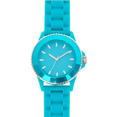 Turquoise Rubber Watch