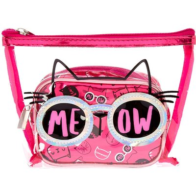 Cat's Meow Make up Bag Duo