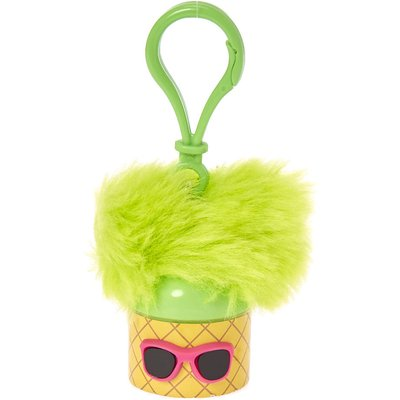 Pom Ears Pineapple Wearing Sunglasses Flavored Lip Balm