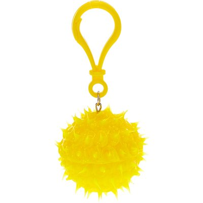 Glittery Yellow Rave Ball Pineapple Flavored Lip Balm