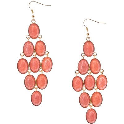 Blush Dangle Earrings