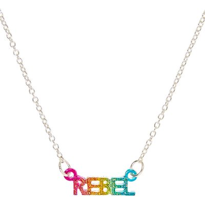 Rainbow Rebel Pendant Necklace