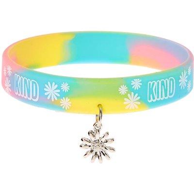 Kind Pastel Rubber Bracelet