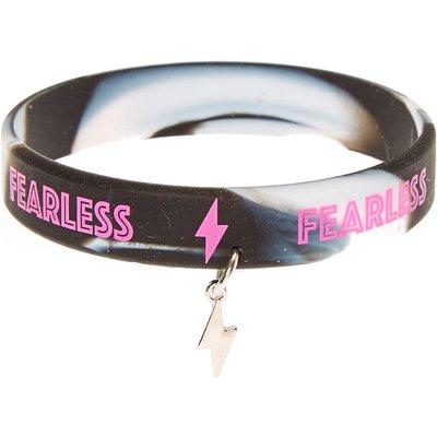 Fearless Rubber Bracelet
