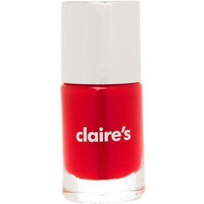 Dark Red Shimmer Nail Polish