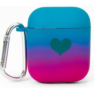 6-Pack Rainbow Ombre Bangle Bracelets