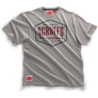 SCRUFFS AUTHENTIC  GREY MARL t-SHIRT SZ XL
