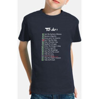 commanders to-do list kid shirt