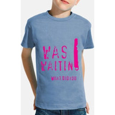 Children, short sleeve, blue