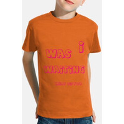 Children, short sleeve, orange