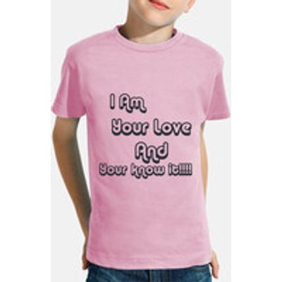 Children, short sleeve, pink