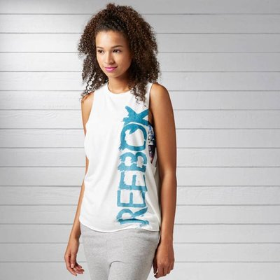 Reebok Logo Sleeveless T-Shirt