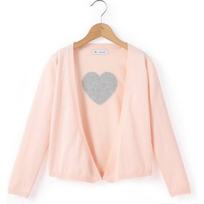 Sparkly Heart Back Cardigan, 3-12 Yrs