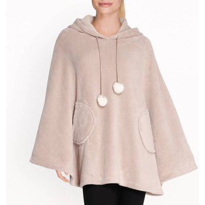 Squirrel Hooded Poncho