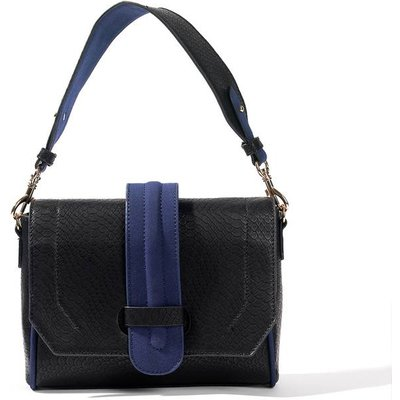 Faux Snakeskin Clutch Bag