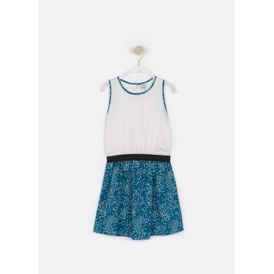 Printed Vest-Style Dress, 6 - 16 Years