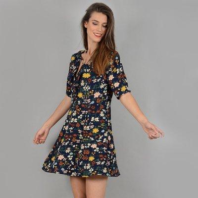 Short-Sleeved Mini Dress